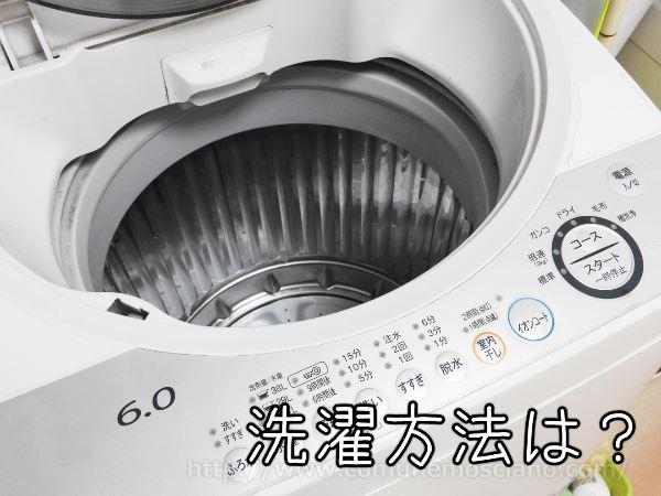 グラマラスパッツを洗濯